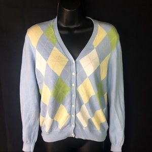 V-neck button front Cardigan Sweater very classy